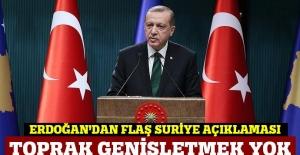 Cumhurbaşkanı Erdoğan: Teröristler nereye kaçarsa kaçsın peşlerini bırakmayacağız