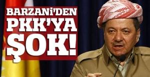 Barzani'den PKK'ya büyük şok