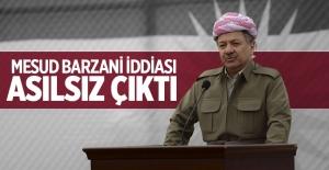 Barzani, görevi bıraktı iddiası asılsız çıktı