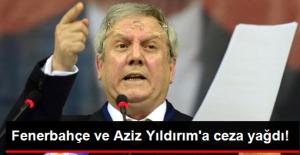 PFDK, Fenerbahçe Başkanı Aziz Yıldırım'a 6 Ay 15 Gün Hak Mahrumiyeti Cezası Verdi