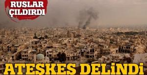 Suriye'de ateşkes 34 kez ihlal edildi, Rusya çok kızdı