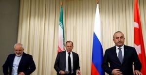 Türkiye, Rusya ve İran Moskova'da bir arada