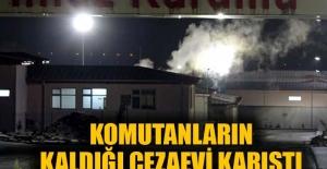 Düzce Cezaevi'nde mahkum yangın çıkardı