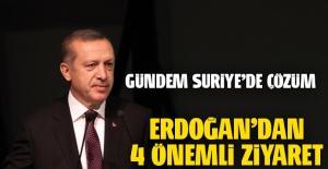 Erdoğan'dan 4 önemli ziyaret