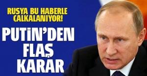 Putin flaş karar! 16 generali görevden aldı