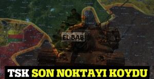 TSK'dan El Bab açıklaması: Kontrol altına alındı
