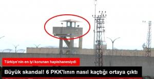 6 PKK'lının Firar Ettiği Cezaevinde, Kuledeki Nöbetçi Asker Uyumaya Gitmiş