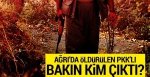 Ağrı'da öldürülen PKK'lı bakın kim çıktı!