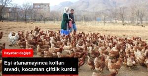Atanamayan Eşine Destek Olmak İsteyen Kadın, Tavuk Çiftliği Kurdu