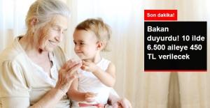 Bakan Müezzinoğlu Babaanne Projesi'nde Maaş Alanları Açıkladı
