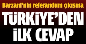 Barzani'ye referandum cevabı: Yanlış olur!