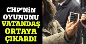 CHP'nin röportaj oyununu vatandaş ortaya çıkarttı