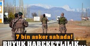Diyarbakır'da 7 bin asker sahada! Operasyon devam ediyor...