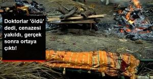 Doktorların 'Öldü' Dediği Kadın, Cenazesinde Diri Diri Yakıldı