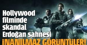 Hollywood filminde akıl almaz 'Erdoğan' sahnesi
