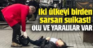 Kiev'in merkezinde silah sesleri: Ölü ve yaralılar var