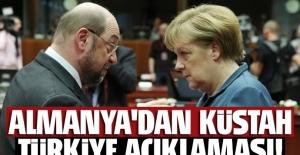Martin Schulz'dan küstah Türkiye açıklaması