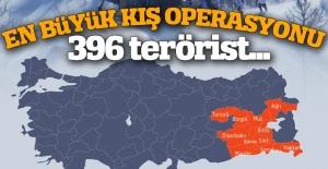 Mehmetçik kışın da PKK'ya göz açtırmadı