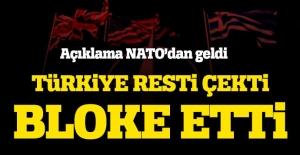NATO açıkladı! Türkiye bloke etti
