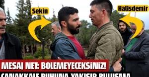 Ömer Halisdemir'in kardeşiyle Fethi Sekin'in kardeşi buluşup kucaklaştı