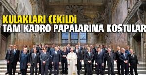 Papa'ya koştular