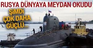 Rusya'nın yeni nesil nükleer denizaltısı!