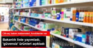 Sağlık Bakanlığı, 'Güvensiz' Kozmetik Ürünleri Açıkladı