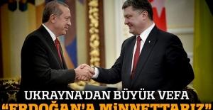 'Türk halkına ve Erdoğan'a minnettarız'