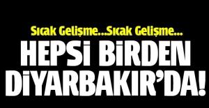 Hulusi Akar ve komutanlar Diyarbakır'da