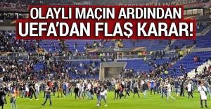 Lyon taraftarları İstanbul'a gelmeyecek