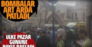 Mısır'da patlama haberleri peş peşe geldi