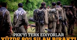 Sincarlı Ezidiler terör örgütü PKK saflarını terk ediyor