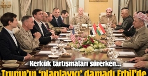 Trump'ın damadı ve ABD heyeti, Barzani ile görüştü