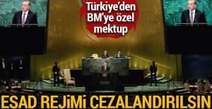 Türkiye'den BM'ye mektup: Esad rejimi cezalandırılsın