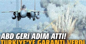 ABD geri adım attı! Türkiye'ye güvenlik garantisi verdi