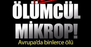 Avrupa'da ölümcül mikrop! Binlerce ölü!