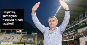 Beşiktaş, Şenol Güneş'in Sözleşmesini 1 Yıl Uzattı