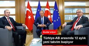 Cumhurbaşkanı Açıkladı: Türkiye-AB arasında 12 aylık Yeni Takvim