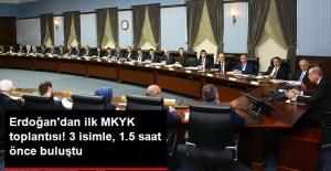 Erdoğan'dan İlk MKYK Toplantısı! 3 İsimle, 1.5 Saat Önce Buluştu