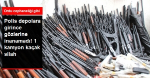 Hatay'da 1 Kamyon Kaçak Silah Ele Geçirildi
