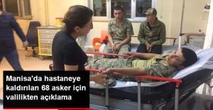 Manisa'da Hastaneye Kaldırılan Askerlere İlgili Valilikten Açıklama