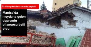 Manisa'daki Depremin Bilançosu açıklandı
