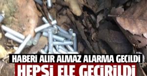 Mardin'de terör operasyonu, PKK mühimmatı ele geçirildi