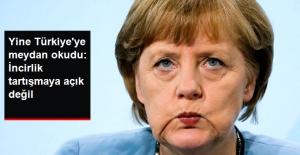 Merkel, İncirlik Konusunda Yine Üst Perdeden Konuştu: Tartışmaya Açık Değil
