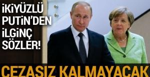 Putin: Kimyasal saldırının sorumluları bulunmalı
