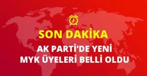 Son Dakika! AK Parti'de Yeni MYK Belli Oldu