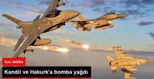Son Dakika! TSK Kandil ve Kakurk'a Bomba Yağdırdı