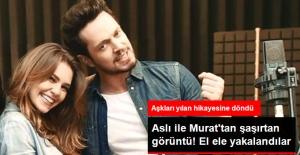 Ayrıldıklarını Açıklayan Murat Boz-Aslı Enver Çifti El Ele Görüntülendi