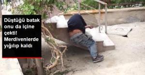 Bonzai Kullanan Gencin İbretlik Hali! Merdivenlerinde Baygın Halde Bulundu