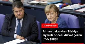 Türkiye Ziyareti Öncesi Almanya Bakandan Dikkat Çeken PKK Çıkışı: Türkiye Haklı